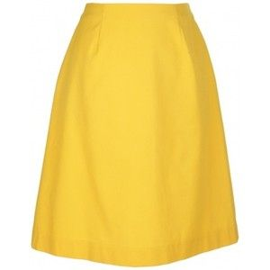 Sunshine Yellow A-Line Skirt | Things to Wear | Pinterest | Skirts ...
