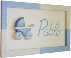 cuadros infantiles nombres bebes