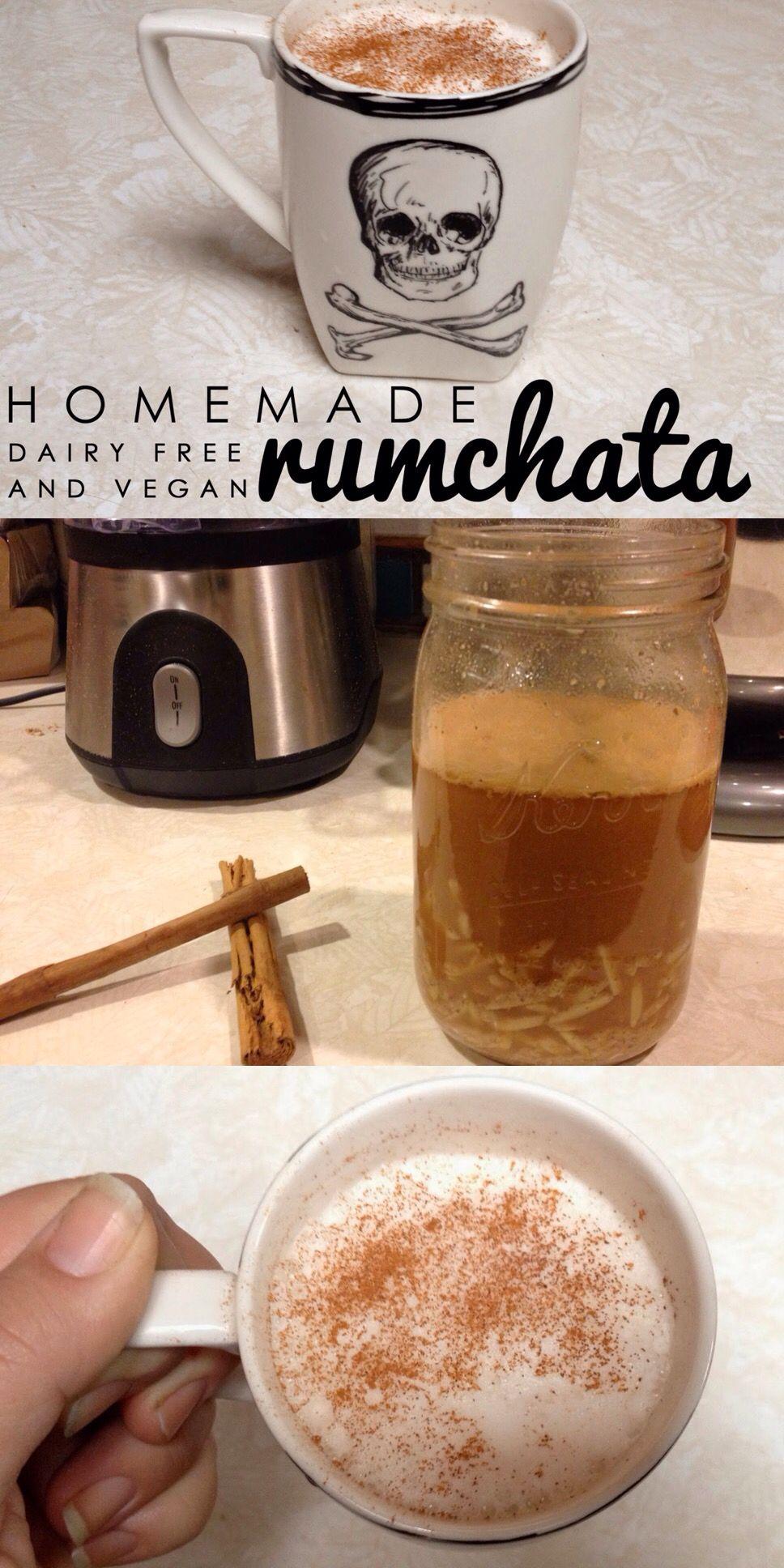 Homemade Rumchata Recipe, Vegan and Dairy-free  Rumchata is a great
