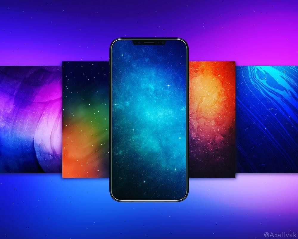 Iphone X Oled Black Wallpaper Iphone X New Galaxy Wallpapers