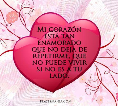 Corazon Enamorado Dedicatorias Para San Valentin Corazon