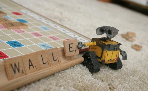 Wall E And Scrabble Wall E Wall E Eve Disney Beauty And The Beast