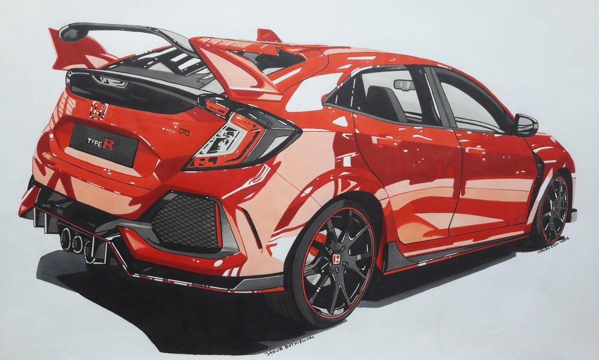 Honda Civic Type R Fk8 Honda Civic Car Honda Civic Honda Civic Type R