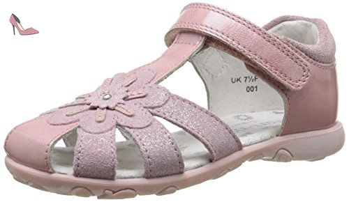 Start Rite Honeysuckle, Sandales Bout Ouvert Fille, Rose (Pale Pink), 26 EU