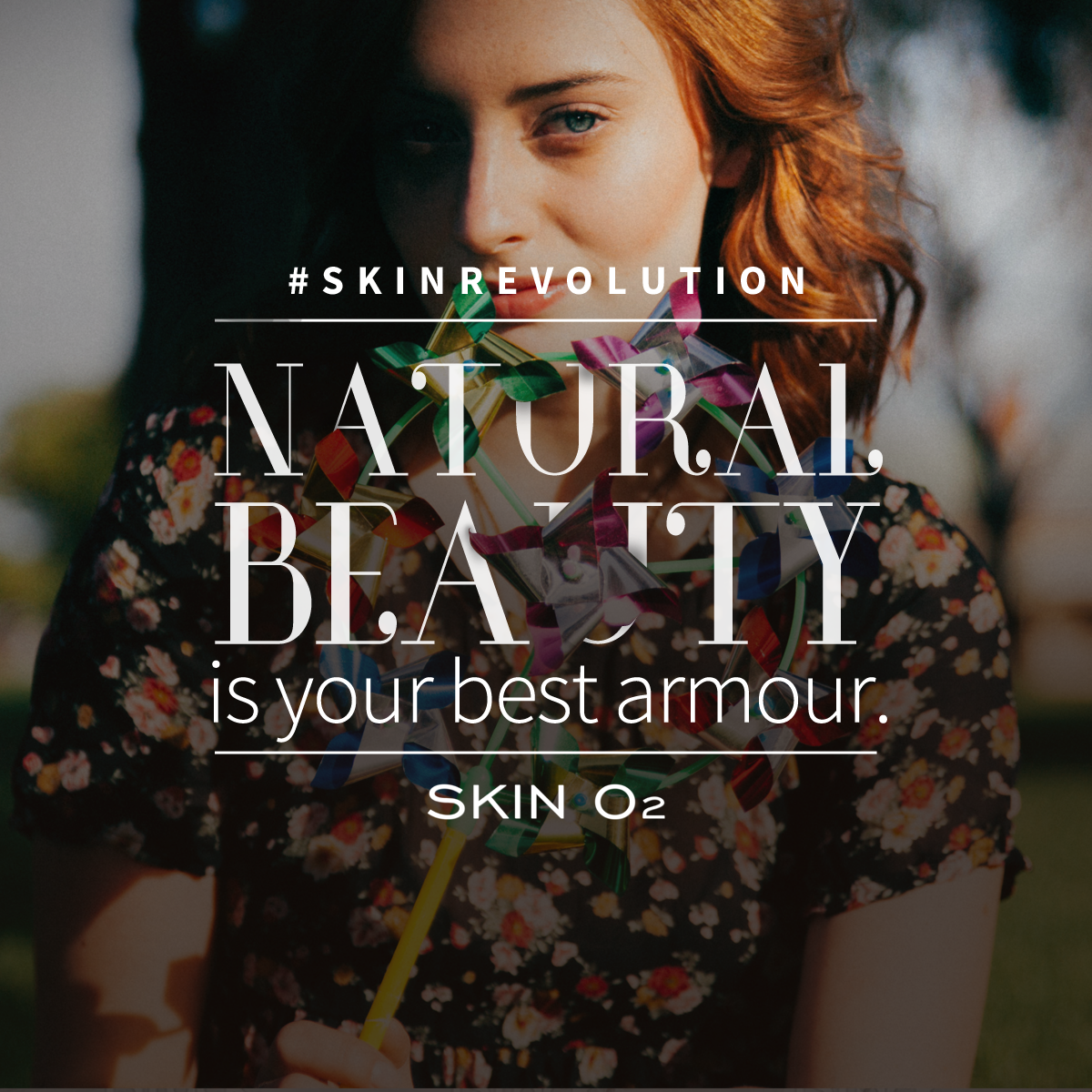 Nothing beats naturally great skin. SkinRevolution