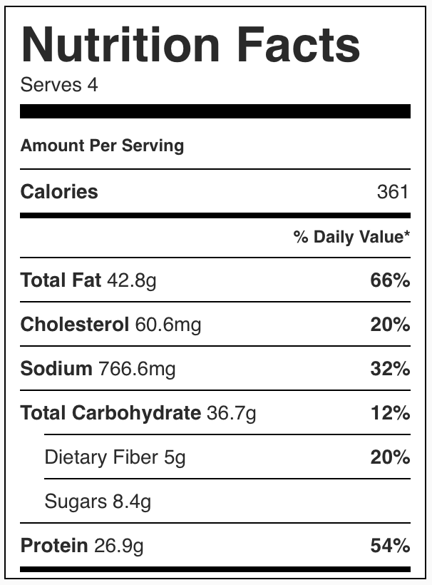 Calories In Pesto Chicken Tortellini Nutrition Facts Chelsea S Messy Apron Nutrition