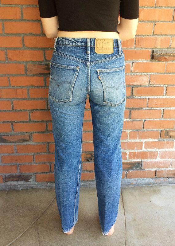 Levis 505 Vintage : levis, vintage, Levi's, Orange, Waisted, Jeans, Waist, Vintage,, Jeans,, Vintage, Denim