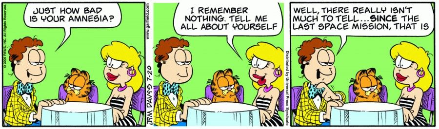 Garfield & Friends | The Garfield Daily Comic Strip for July 20th, 2006