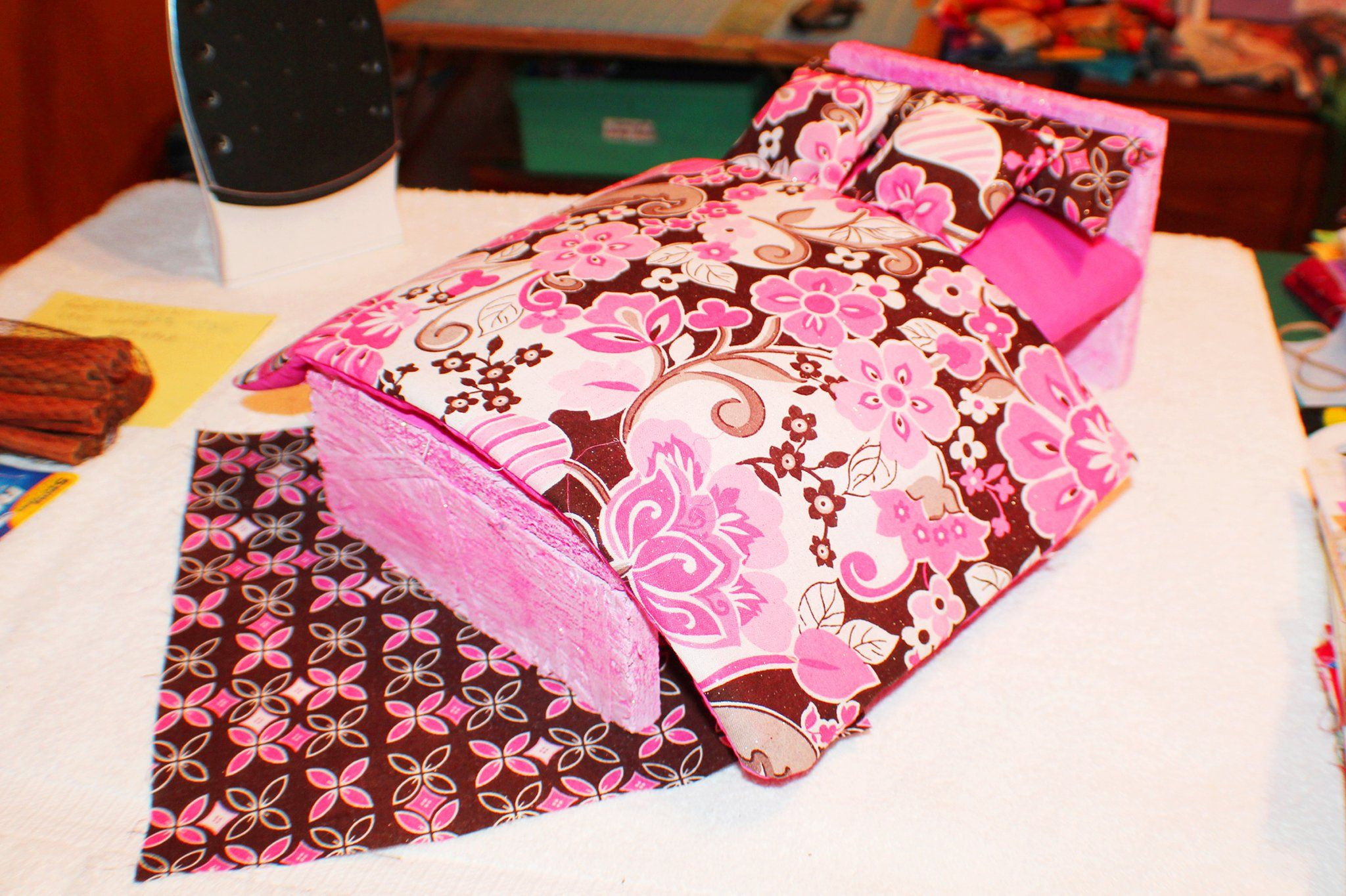 Homemade DIY Double size Barbie bed Furniture. Homemade DIY Double size Barbie bed Furniture   My Crafts   stuff