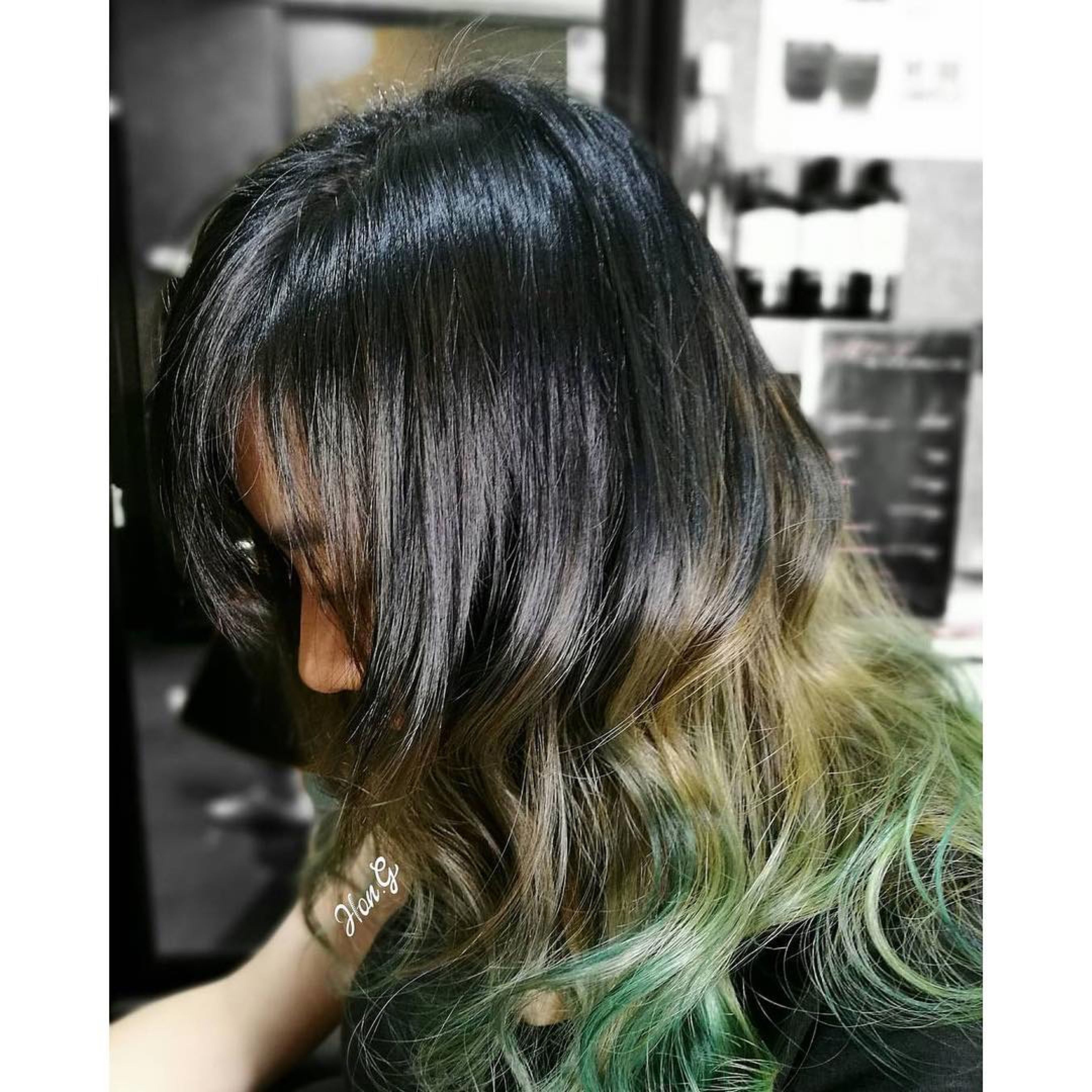 Ash Grey And Green Fashion Color No Bleeding No Staining