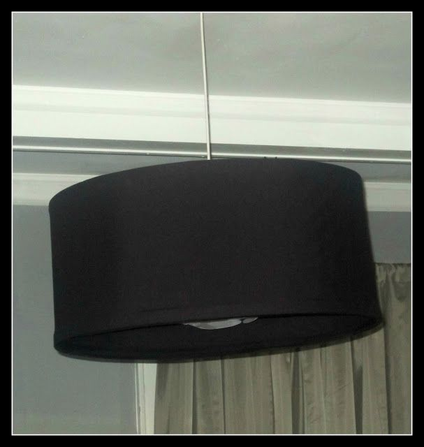 DIY Easy Peasy Drum Shade Chandelier. Cover your chandelier with a ...