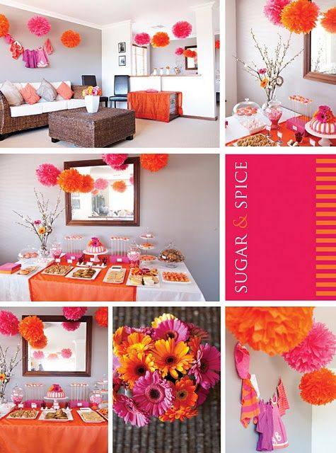 Sugar and Spice Girl Baby Shower Decor - LOVE the use of quotSugar amp Spicequot for Tr... Free Hot ... Su