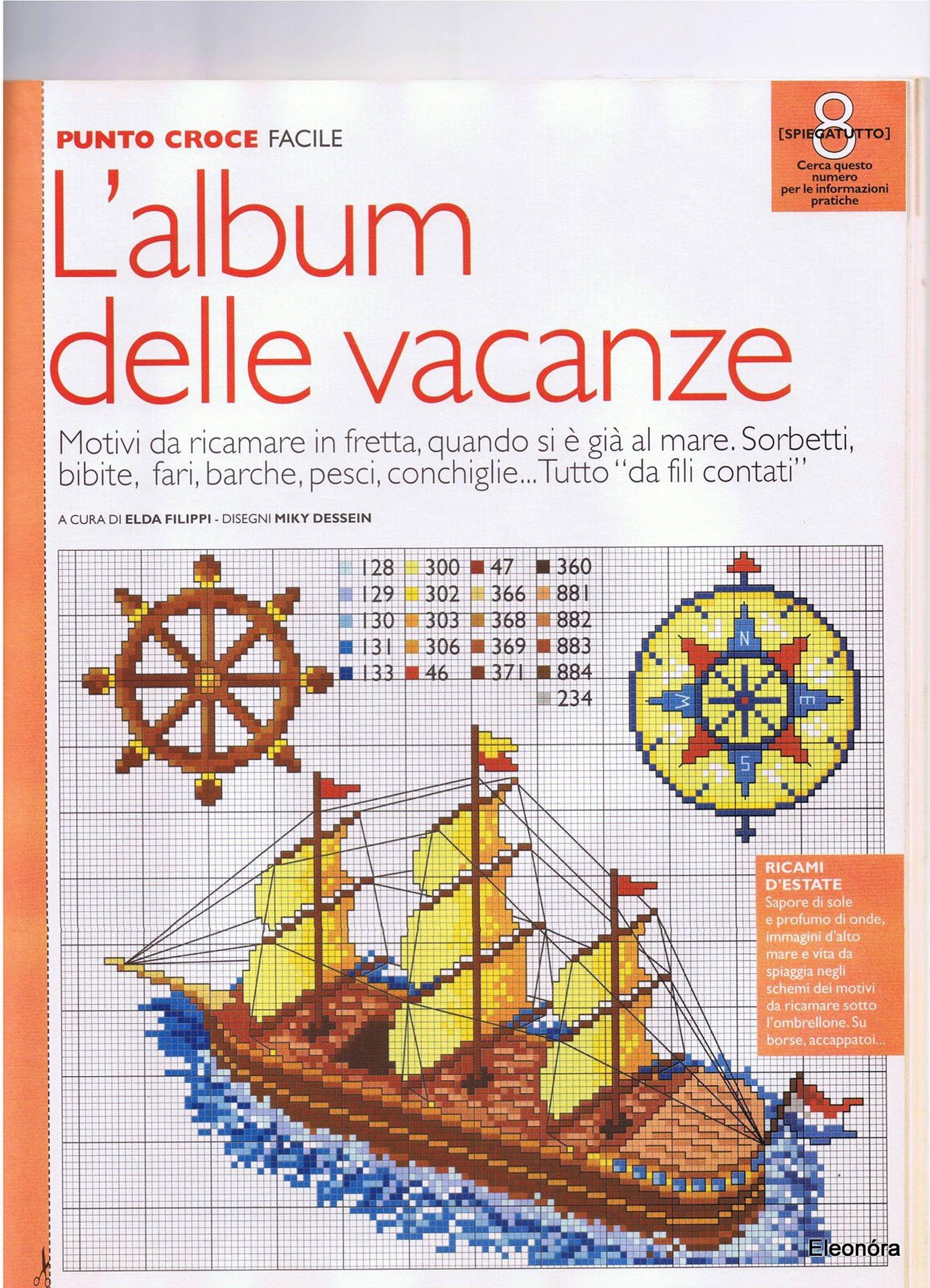 Seaside motifs nautical and seaside cross stitch patterns seaside motifs bankloansurffo Gallery