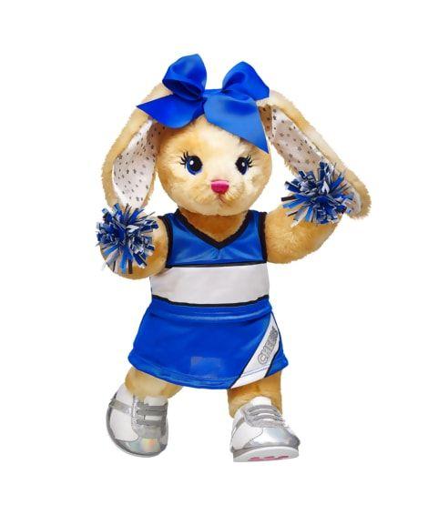 Blue Cheerleader More Moves Bunny Set Build A Bear Bear Build