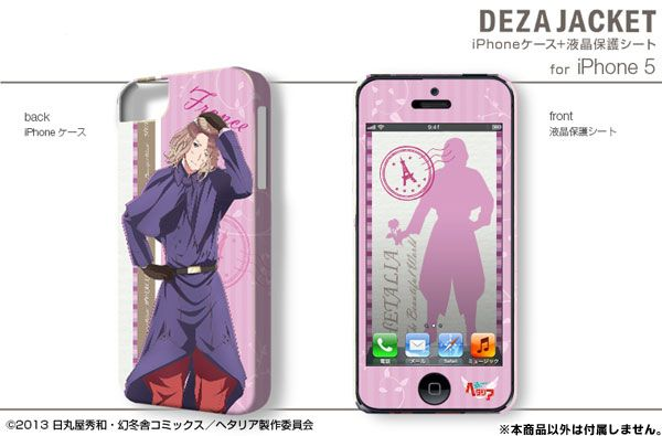 AmiAmi [Character & Hobby Shop] | DezaJacket - Hetalia The Beautiful World iPhone iPhone5/5S Case & Protection Sheet Design 05: France