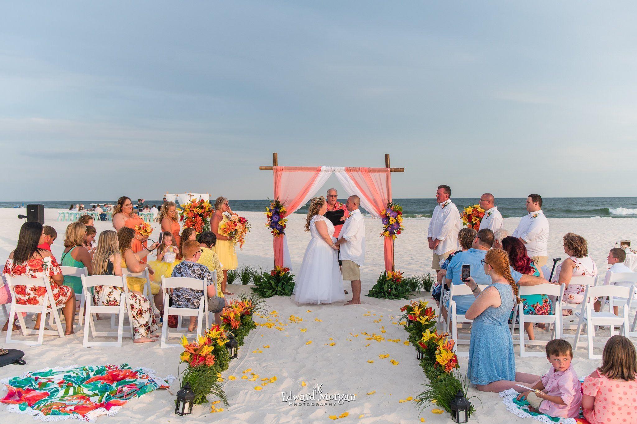 Gulf Shores Sun Coast Beach Weddings Beach Wedding Packages Gulf Shores Beach Shores Beach