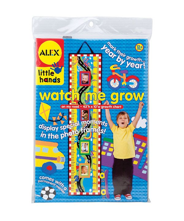Look at this Watch Me Grow: On My Road Growth Chart on #zulily today!