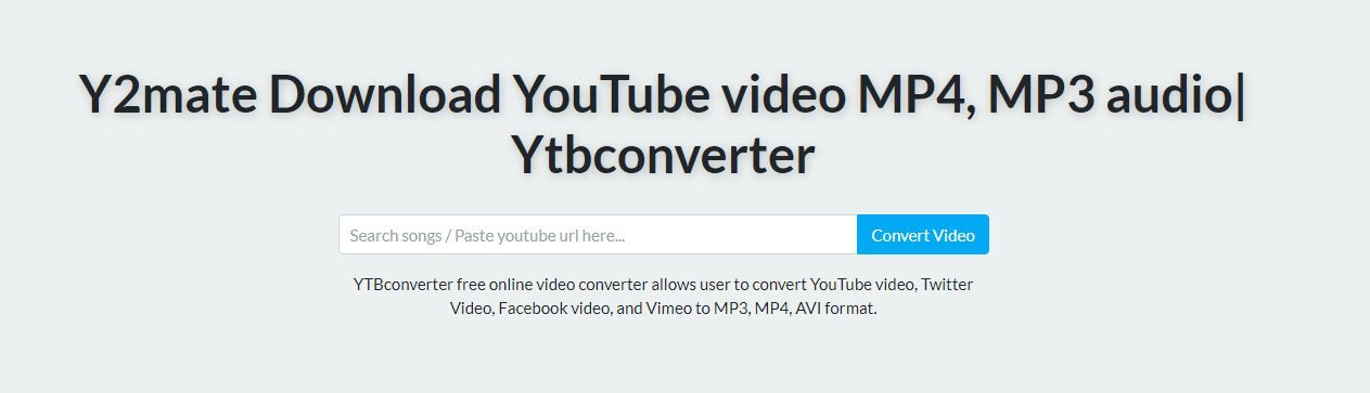 Y2mate Online Video Downloader Allows You To Download Unlimited