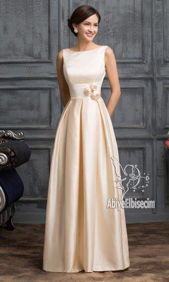 37c819de2774f UZUN ABİYE ELBİSE SATEN | moda in 2019 | Elbiseler, Elbise modelleri ...