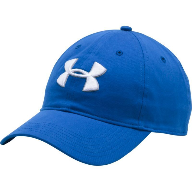 best service 0d11f a93be ... uk under armour mens chino golf hat blue golfhat dd378 b45c4