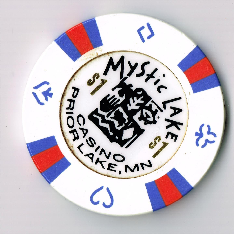 Mystic Lake Casino 1 Casino Chip Prior Lake Minnesota Casino Chips Casino Chips