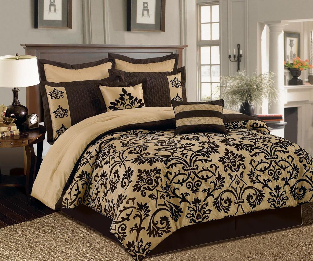 12 Piece Queen San Marco Bed in a Bag Set kitchen decor