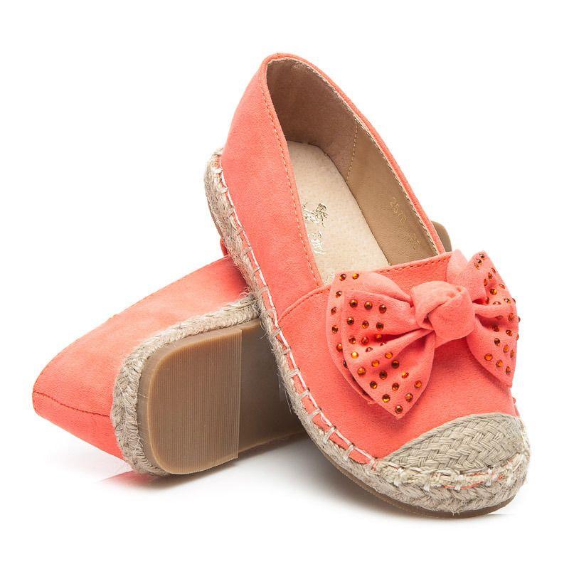 Espadryle Z Kokarda Espadrilles Shoes Fashion