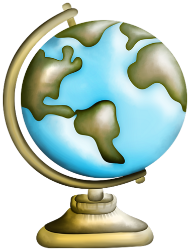 Jawaherpearl Kids صور فتوشوب مدرسية أقلام كرة أرضية مقص أدوات Card Art Clip Art Globe Clipart