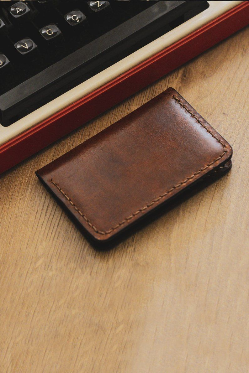 Youre Facing A Business Card Case To Dominate All Your Senses You Will Want To Touch Smell And Feel Leather Wallet Mens Business Card Case Minimalist Wallet