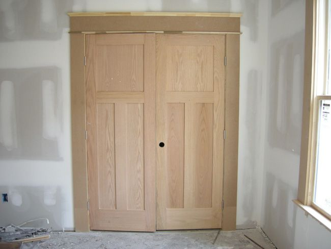 Craftsman trim craftsman trim shaker style doors and for Mission style moulding