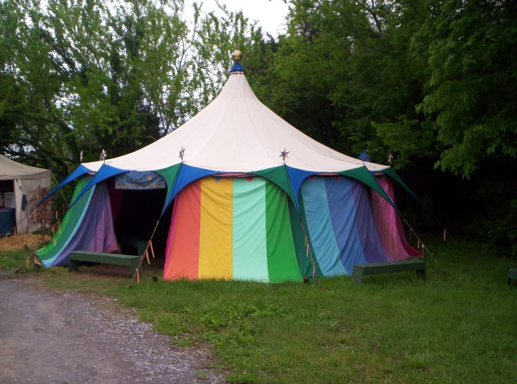 A colorful circus tent. & A colorful circus tent. | Ice cream | Pinterest