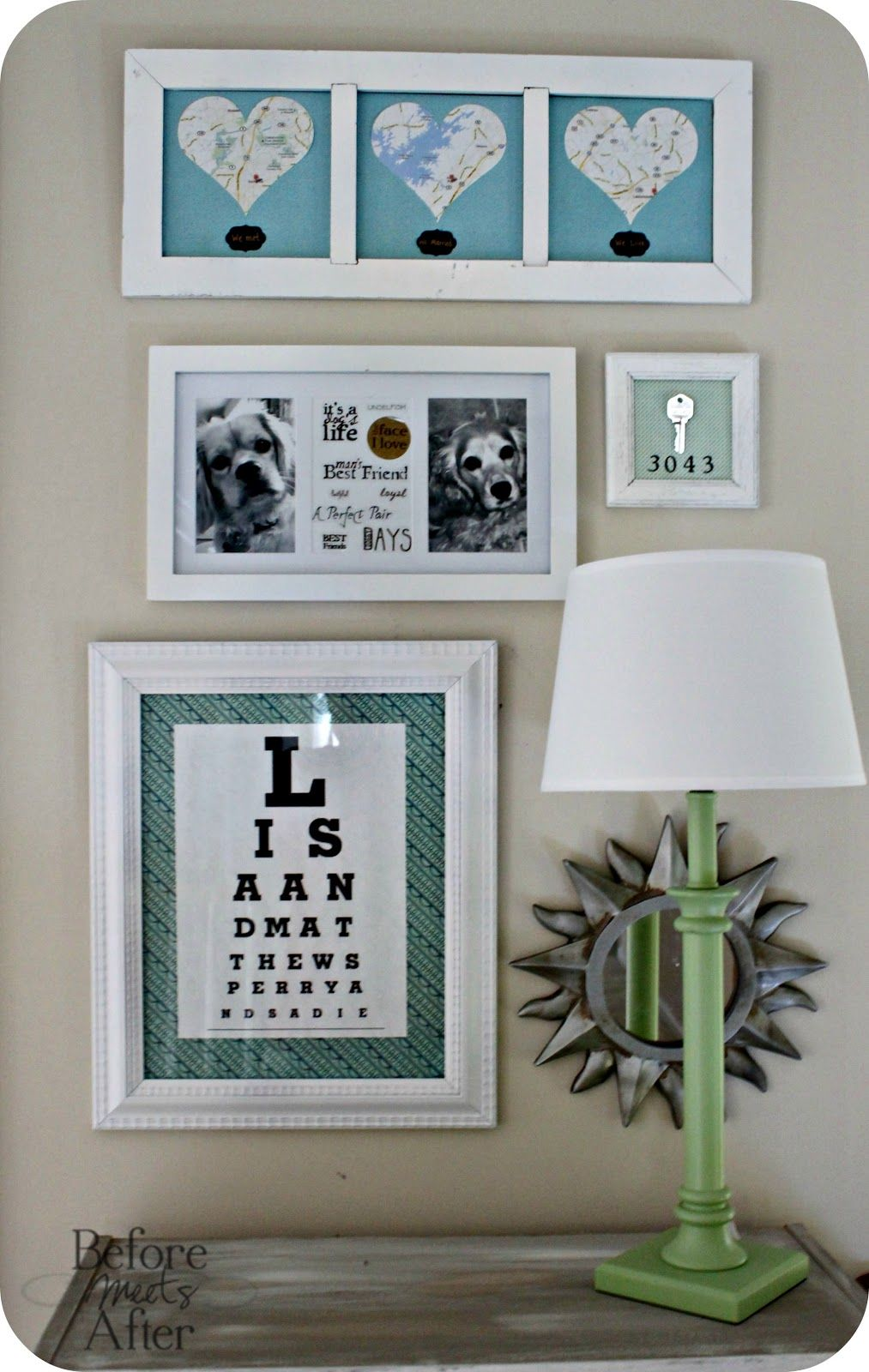 Objects With Meaning Grouping  Like The Framed House Key Especially!
