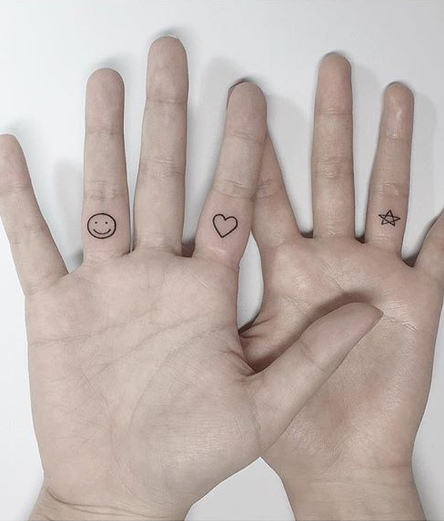 Best Locations For Small Tattoo Designs Smiley Face Tattoo Palm Tattoos Hand Palm Tattoos