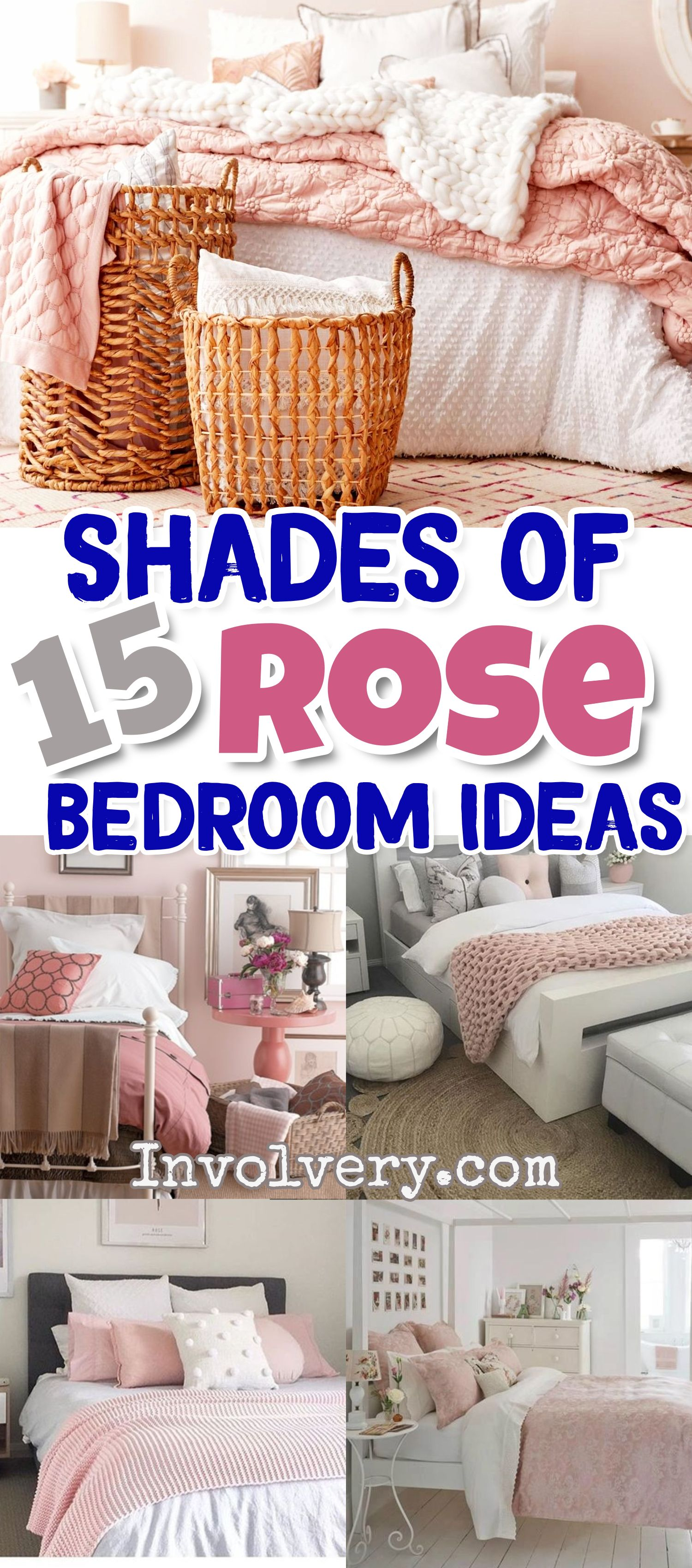 Blush Pink Bedroom Ideas Dusty Rose Bedroom Decor And Bedding I Love Clever Diy Ideas Pink Bedroom Decor Dusty Pink Bedroom Rose Bedroom