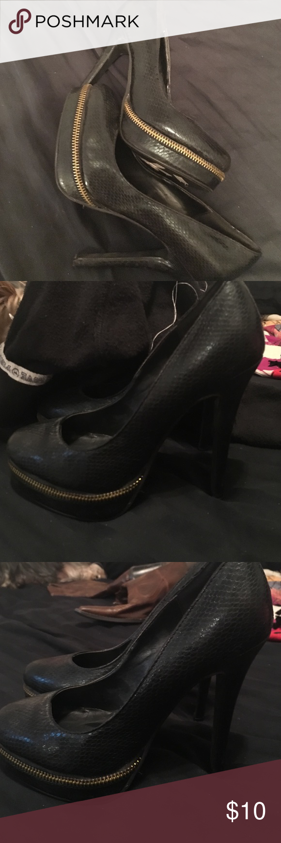 Amazing Charlotte Russe Heels Great show. Worn a few times. Any questions. Please ask. Charlotte Russe Shoes Heels