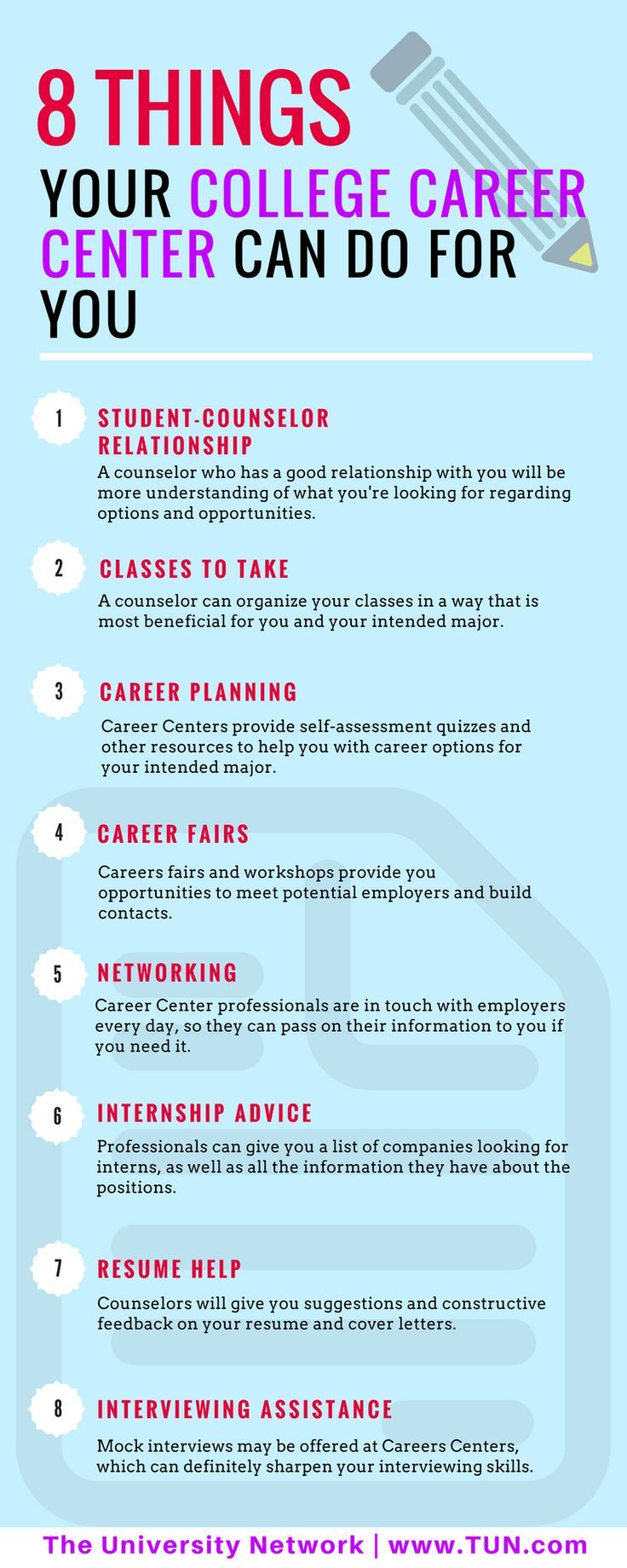 8 Things Your College Career Center Can Do For You | Career path ...