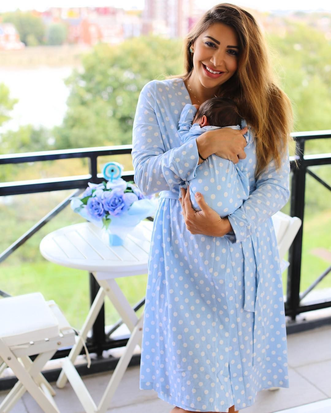 861ac845d1638 This is what I want to wear after giving birth! Cute stylish pajamas for  the hospital and home. (Instagram: @fashionlollipopblog) #milkandbaby