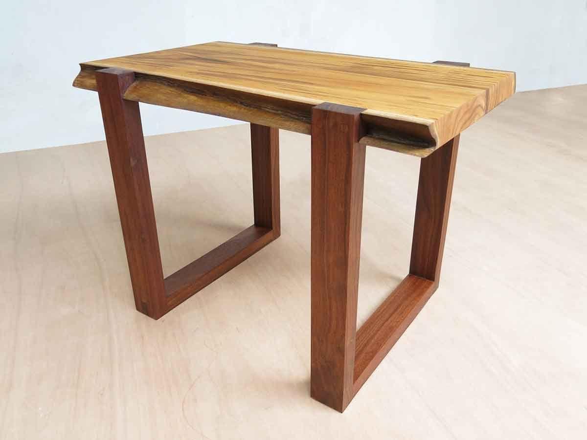 Diria Live Edge Slab Side Or End Table | Handmade U2013 Masaya ...