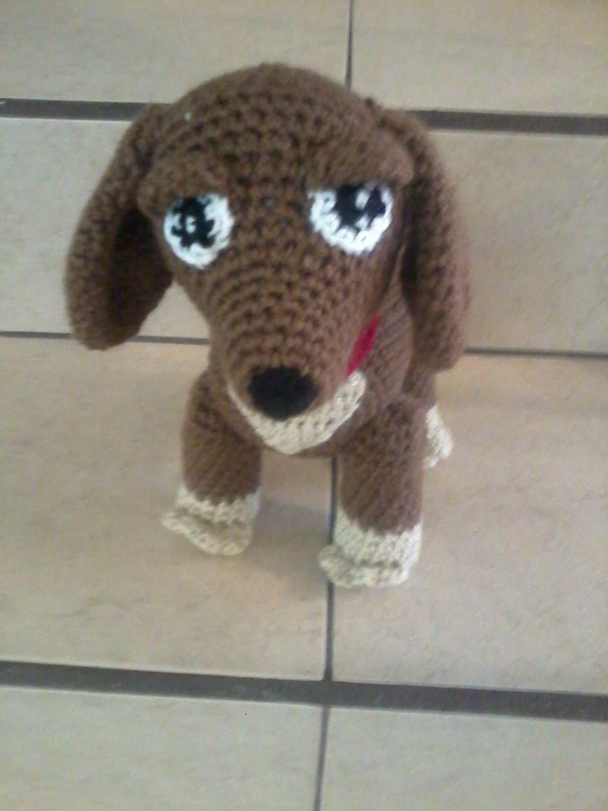 Perro Salchicha   Patrones Amigurumi de Perros   Pinterest   Perros ...