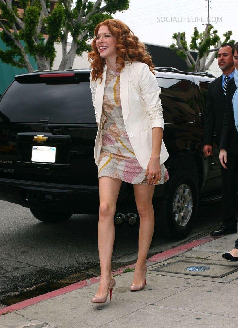 Rachelle Lefevre. Love this outfit!