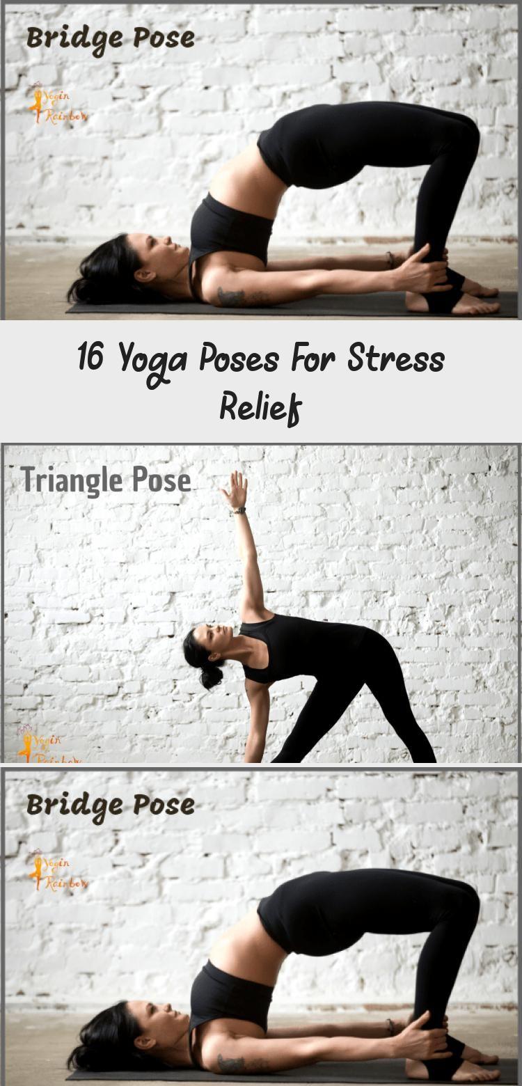 Yoga Flow for Stress Relief #yoga #yogainspiration # ...