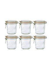 Le Parfait Terrine Jar 0 75l Pack Of 6 Kitchen Food Storage