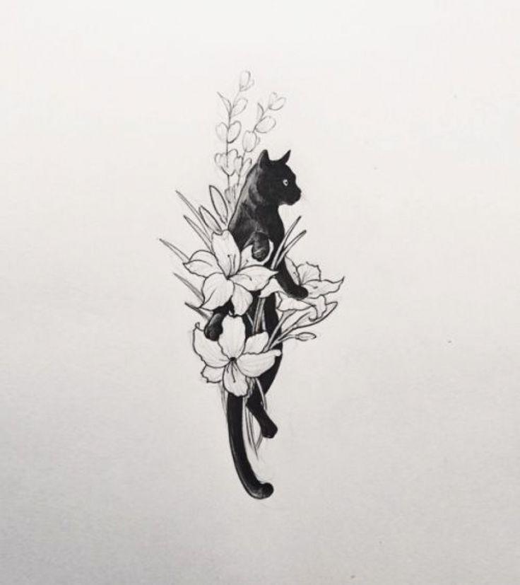 Geometric Tattoo – 1000 Ideas About Cat Tattoos On Pinterest Cat ...