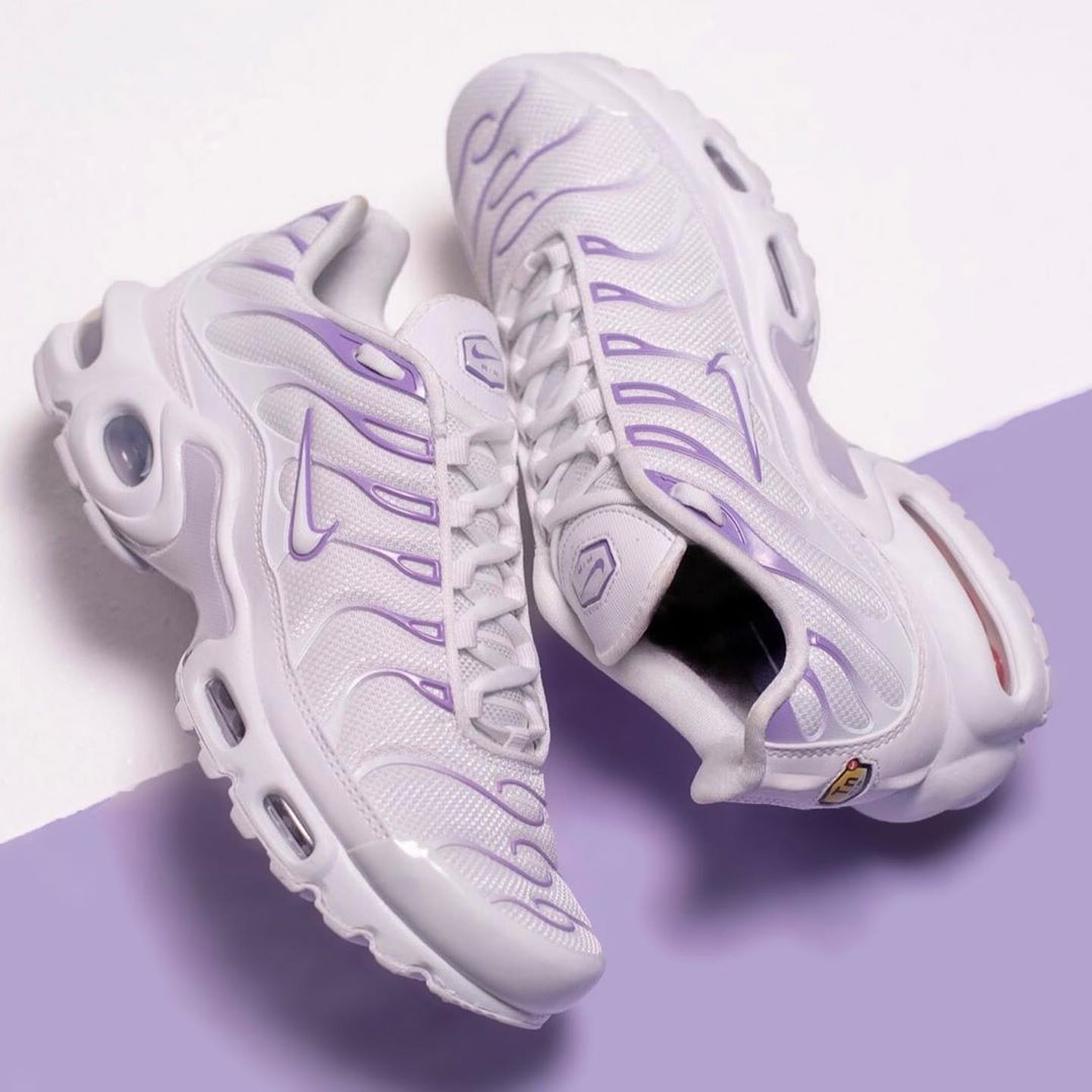 Nike air max plus, Purple sneakers
