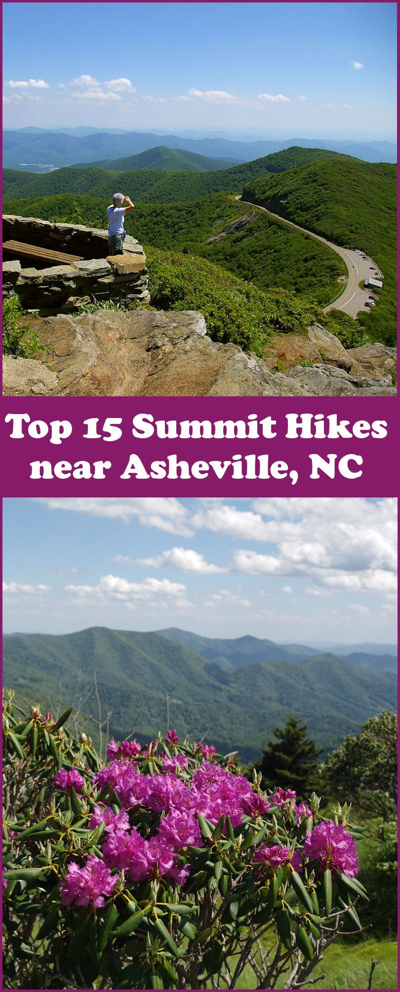 See our Top 15 Summit Hikes near Asheville in the western ...