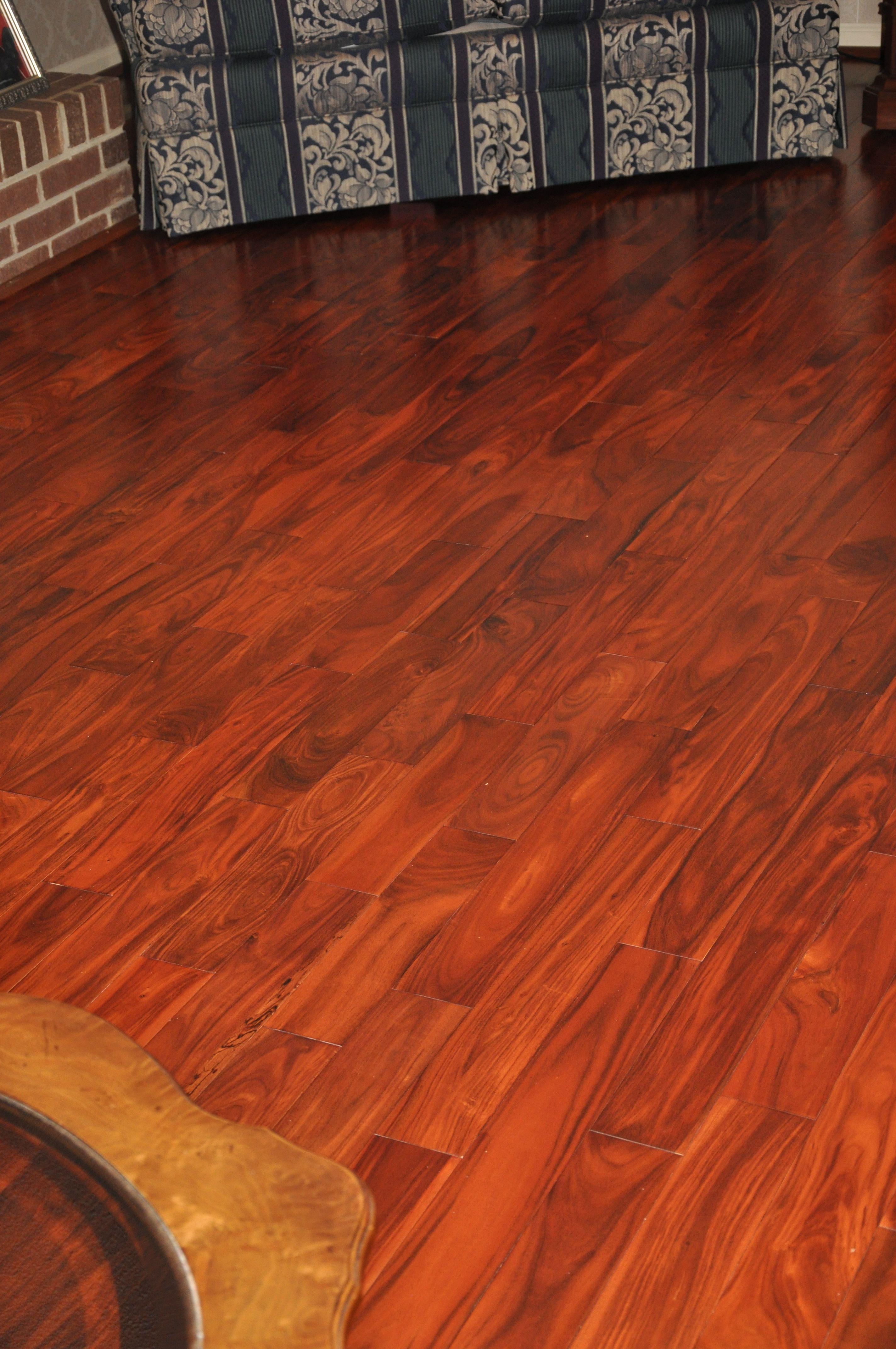 Prefinished Acacia Hardwood Flooring. A beautiful flooring