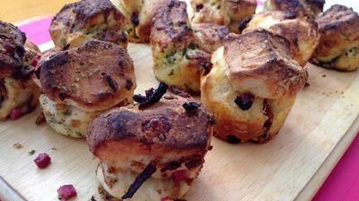 Partybrötchen in der Muffinform - Rezept