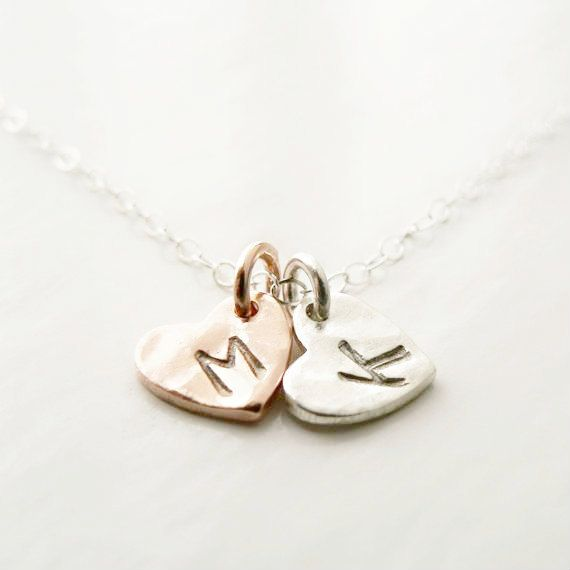 personalized jewelry two hand stamped rose gold and by windowsill