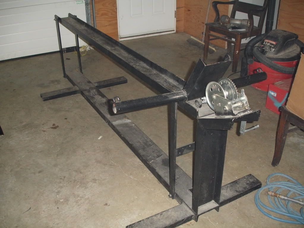 Diy motorcycle lift page 3 advrider garagey for Fabricant de stand