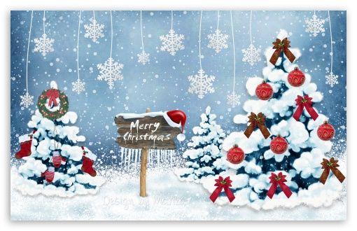Merry Christmas 2014 Hd Desktop Wallpaper Widescreen